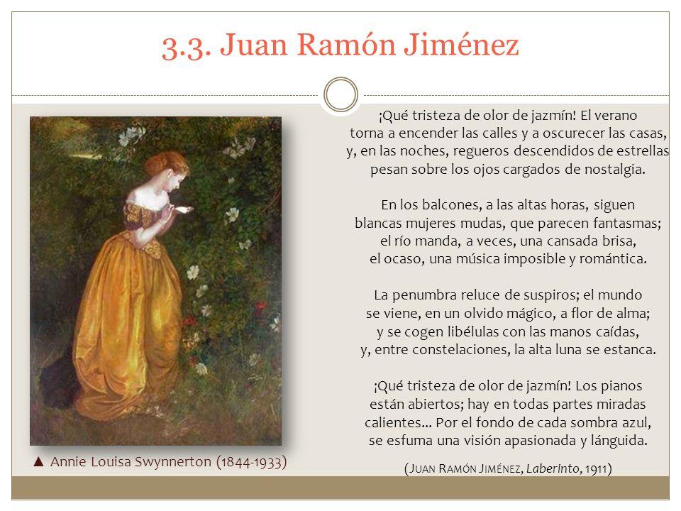 (Juan Ramón Jiménez, Laberinto, 1911)
