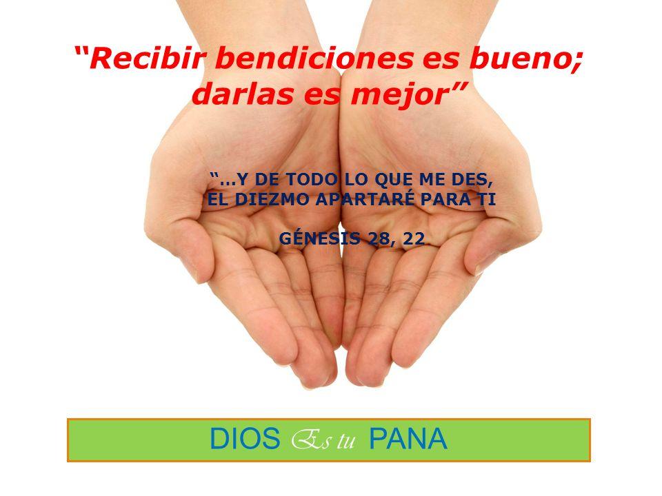 Recibir bendiciones es bueno; darlas es mejor