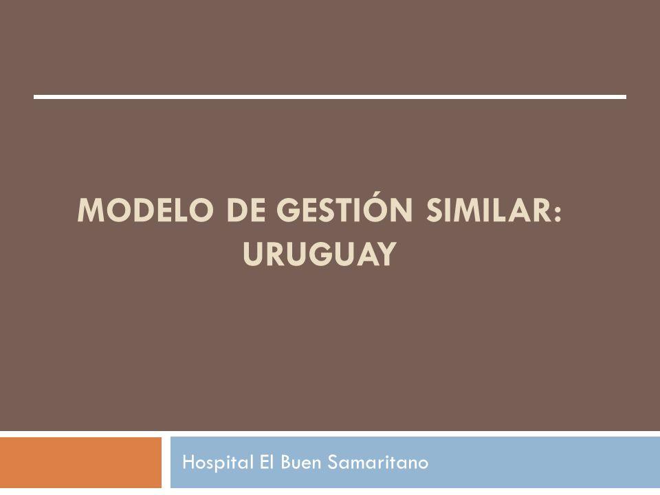MODELO DE GESTIÓN SIMILAR: uRUGUAY