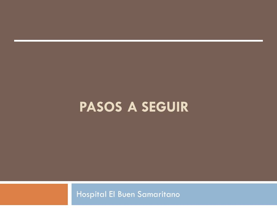 Hospital El Buen Samaritano