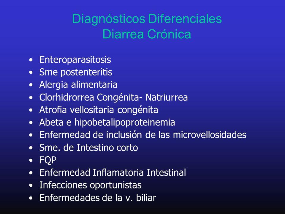 Diagnósticos Diferenciales Diarrea Crónica
