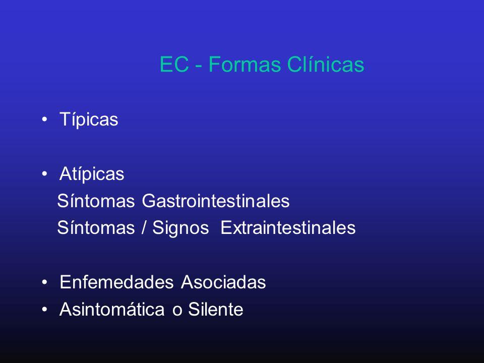 EC - Formas Clínicas Típicas Atípicas Síntomas Gastrointestinales