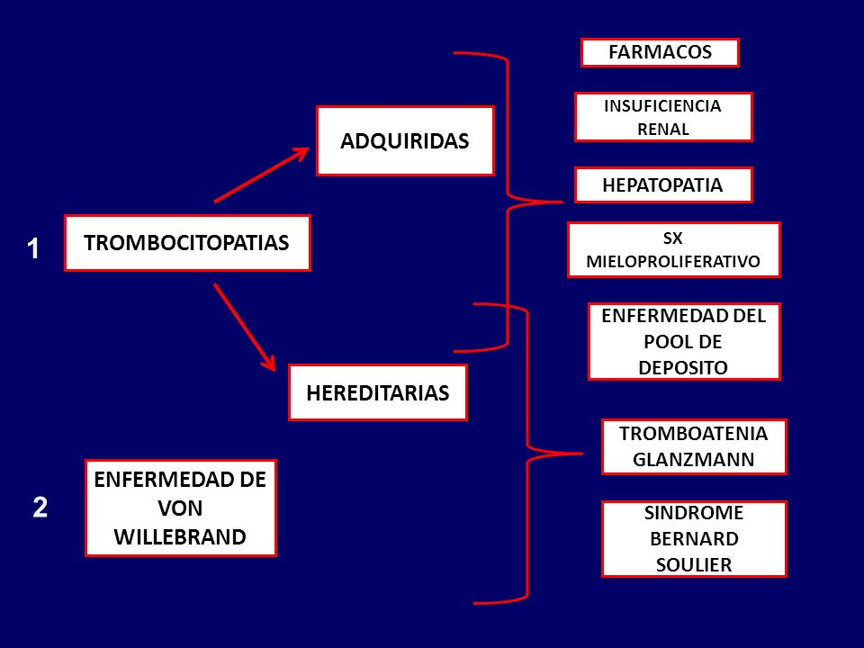 1 2 ADQUIRIDAS TROMBOCITOPATIAS HEREDITARIAS
