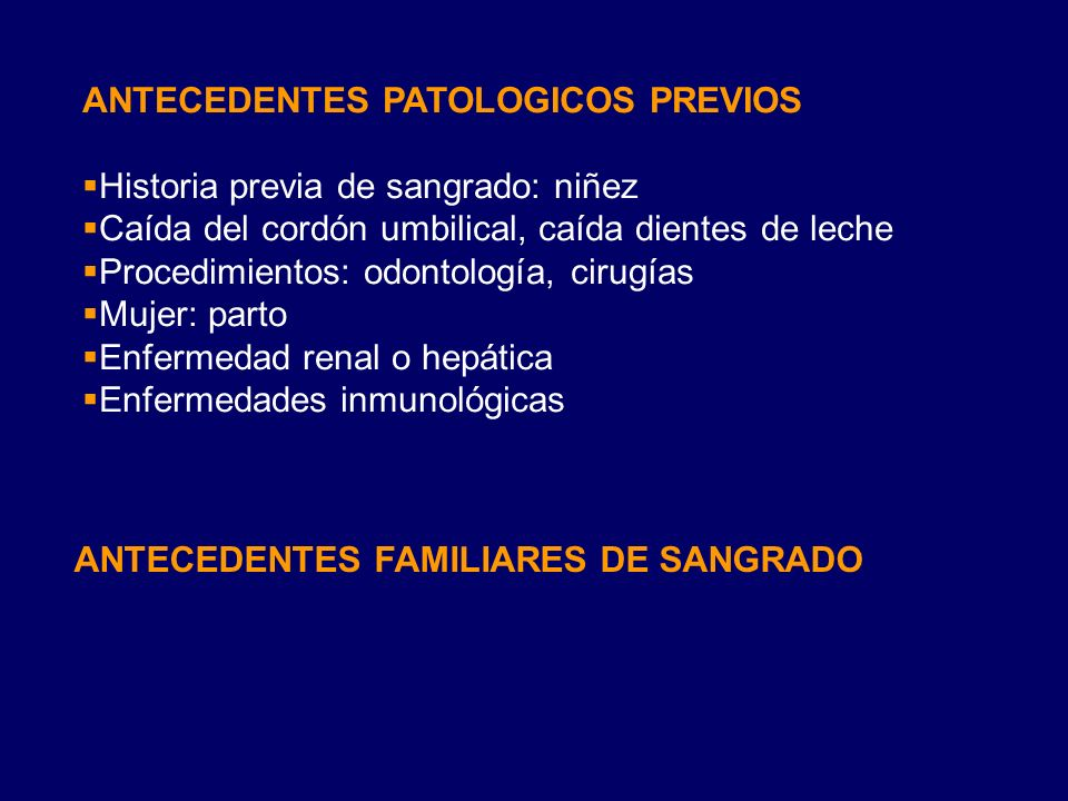 ANTECEDENTES PATOLOGICOS PREVIOS