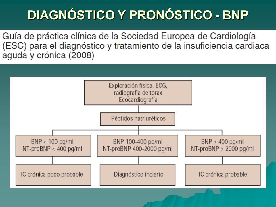 DIAGNÓSTICO Y PRONÓSTICO - BNP