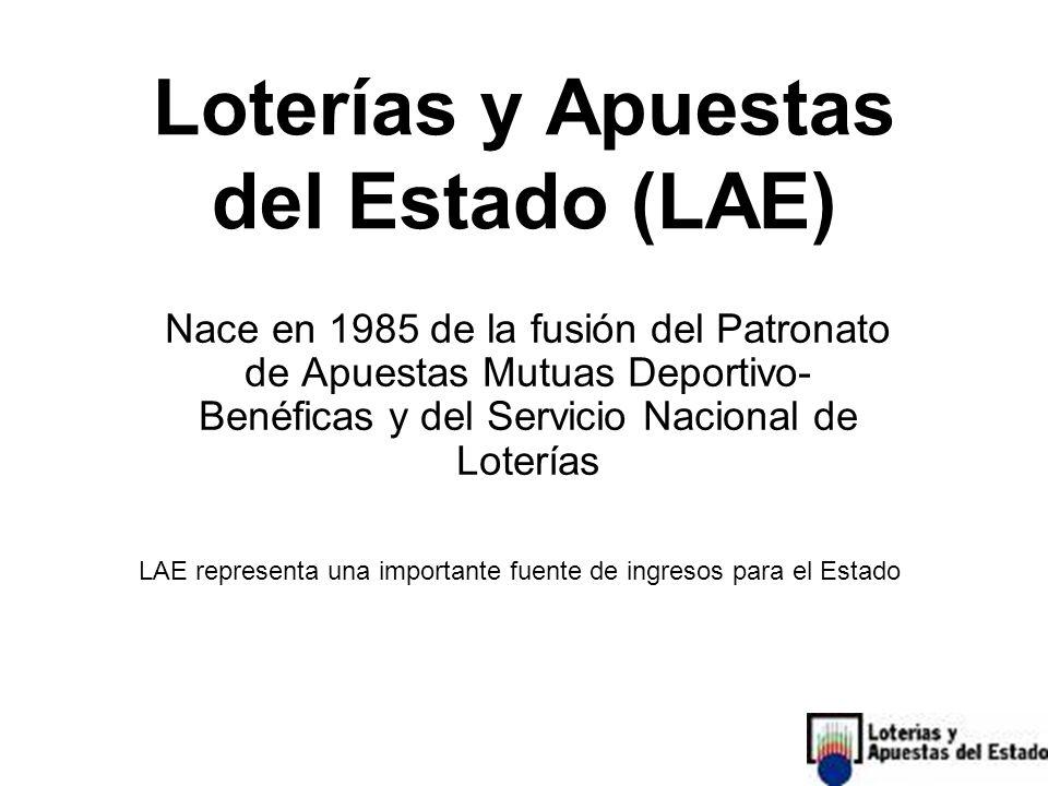 Loterías y Apuestas del Estado (LAE)