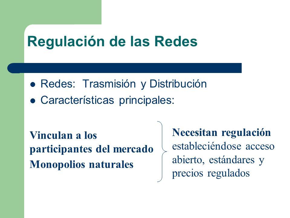 Regulación de las Redes