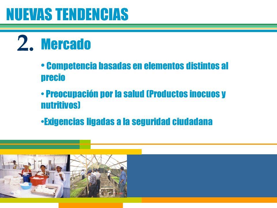 2. NUEVAS TENDENCIAS Mercado