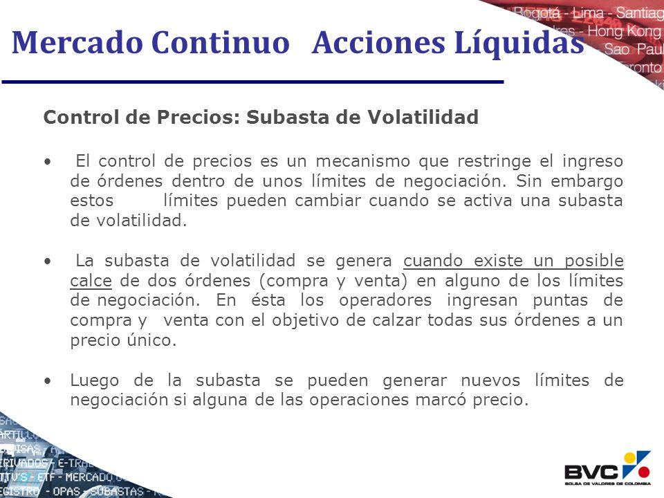 Mercado Continuo Acciones Líquidas