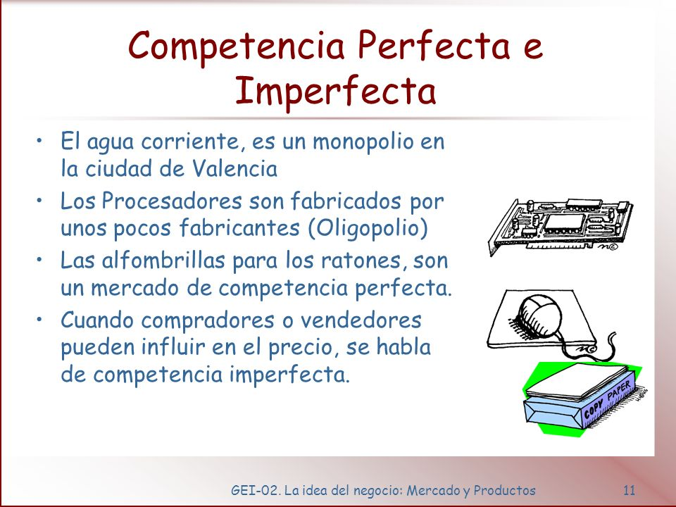 Demanda, Oferta y Precio en el mercado de competencia perfecta