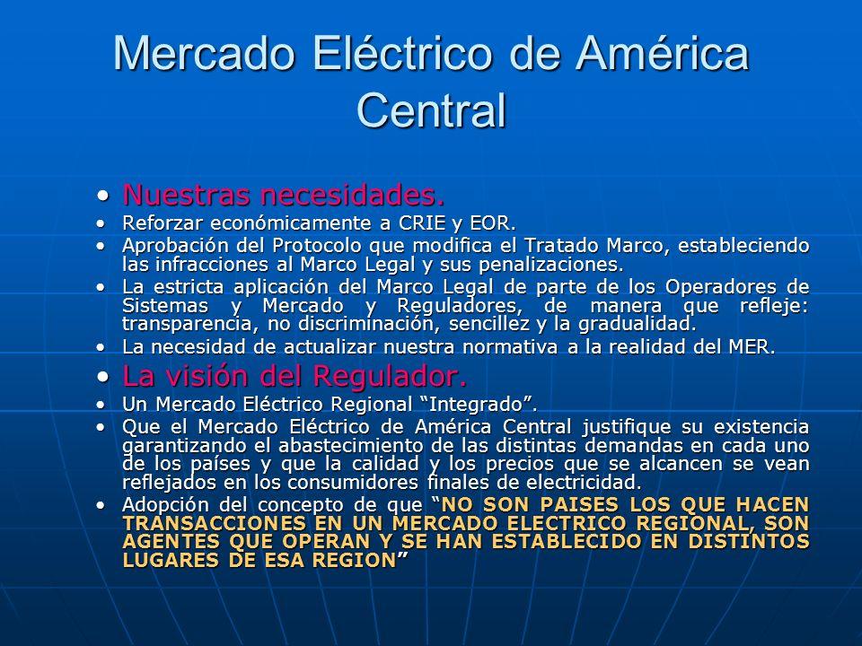 Mercado Eléctrico de América Central