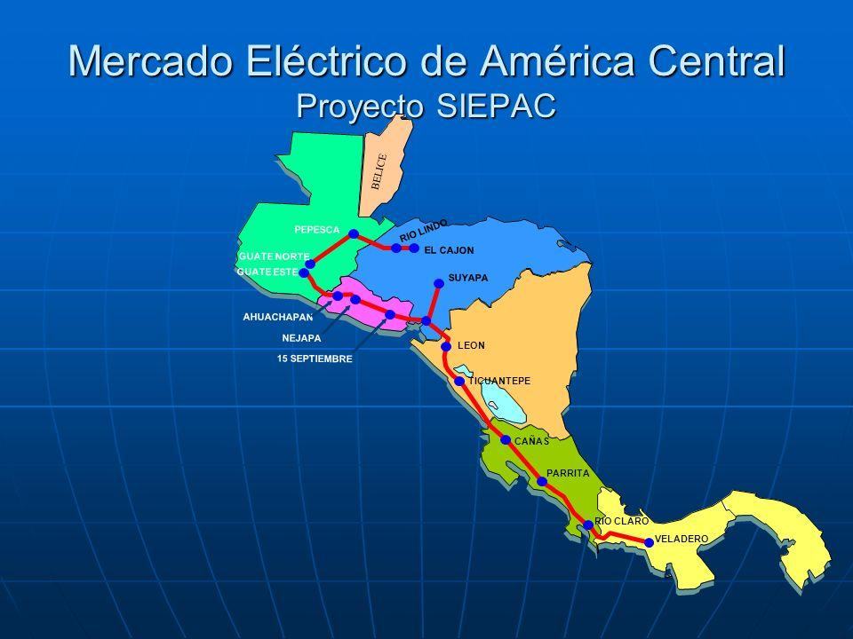 Mercado Eléctrico de América Central Proyecto SIEPAC