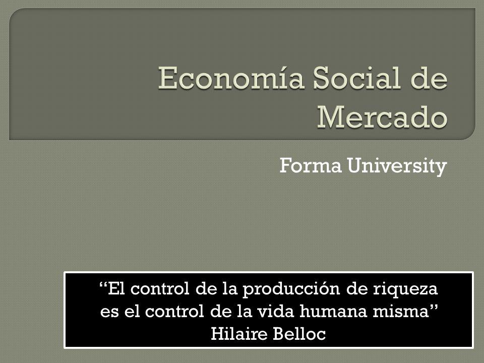 Economía Social de Mercado