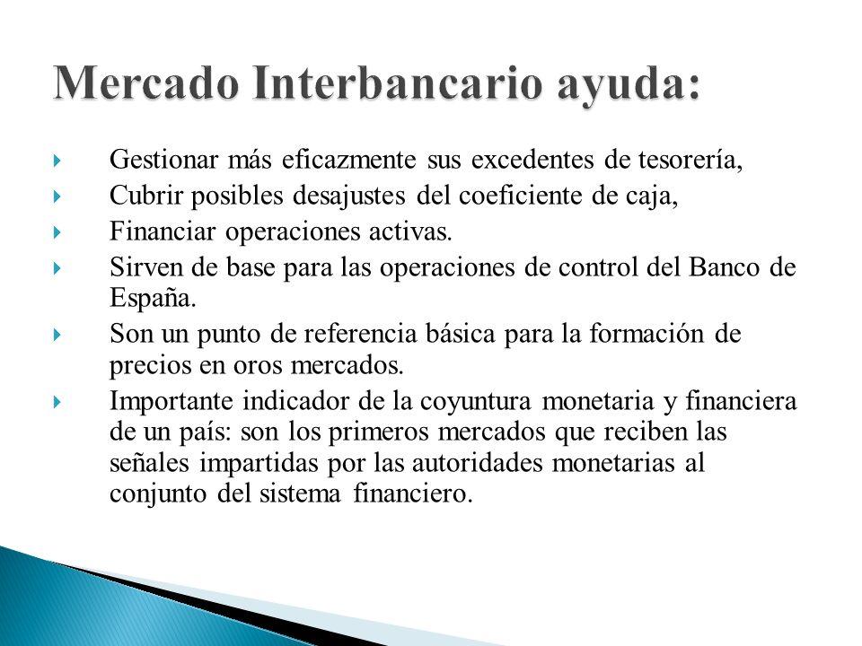 Mercado Interbancario ayuda: