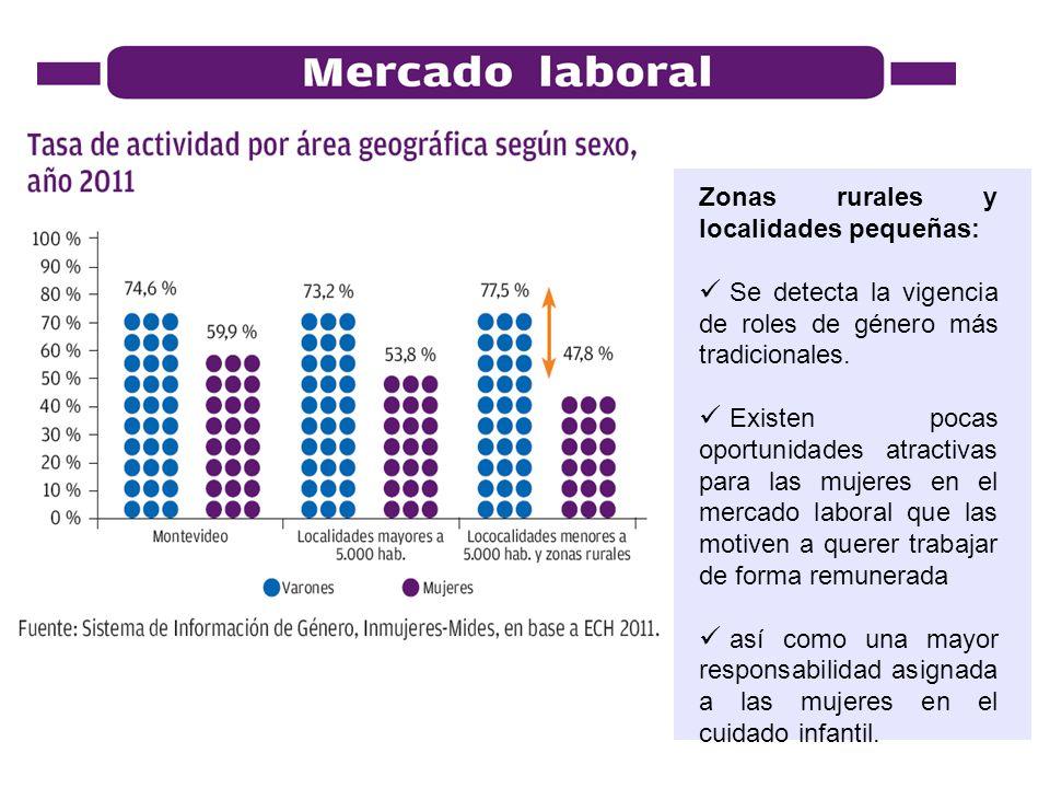 Zonas rurales y localidades pequeñas: