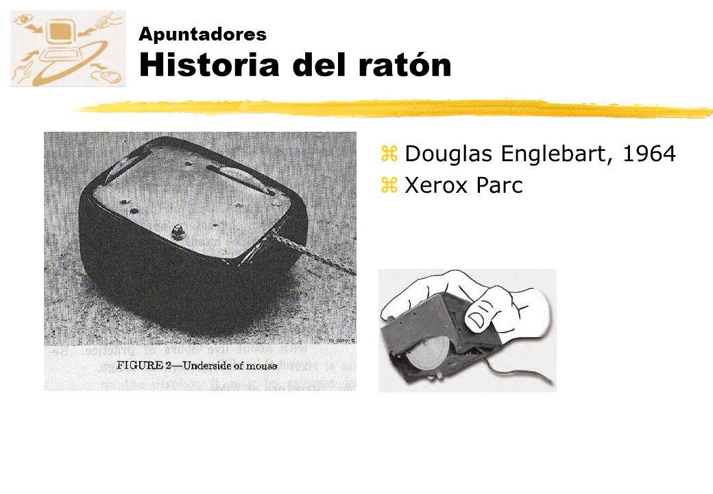 Apuntadores Historia del ratón