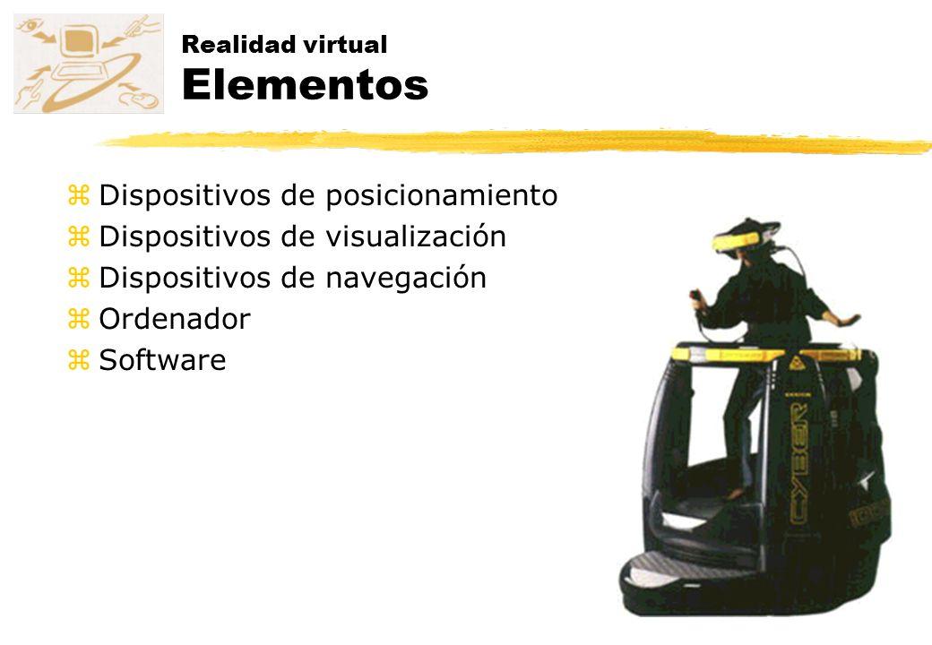 Realidad virtual Elementos