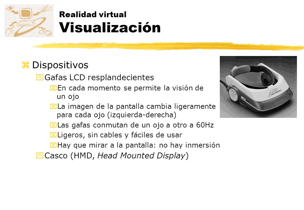 Realidad virtual Visualización