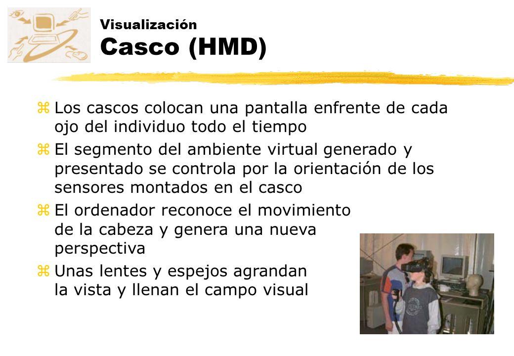 Visualización Casco (HMD)