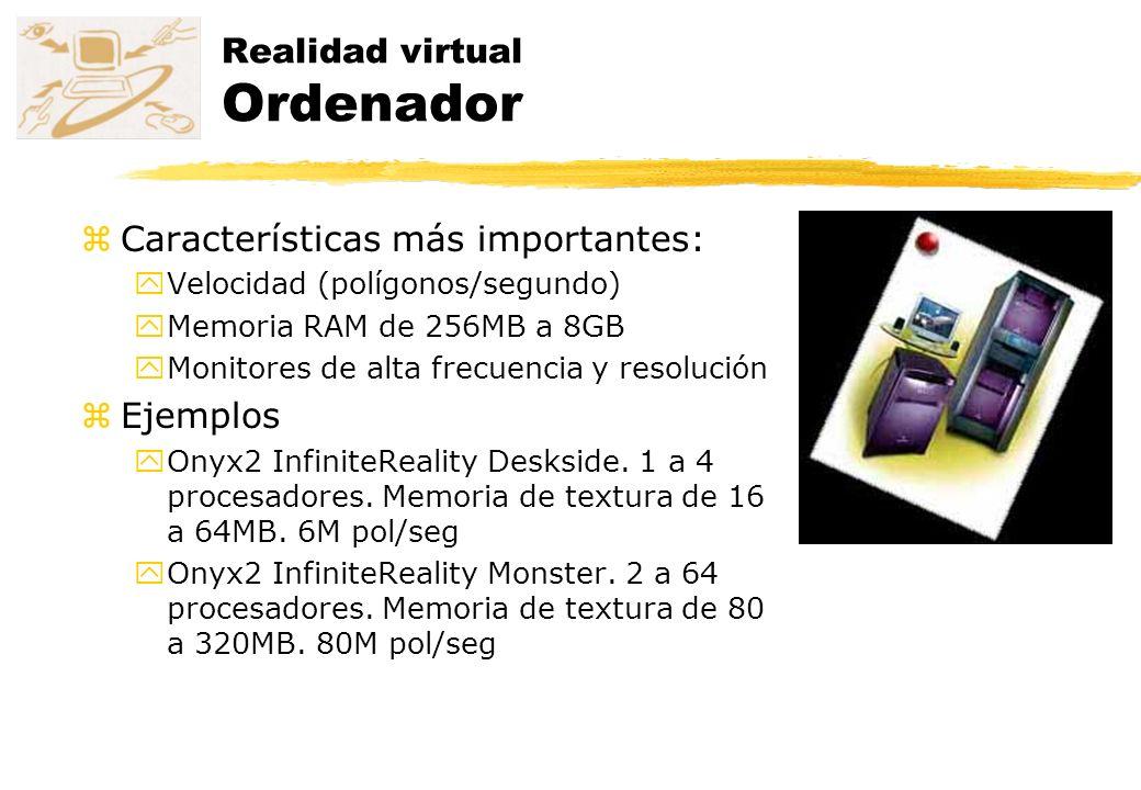 Realidad virtual Ordenador