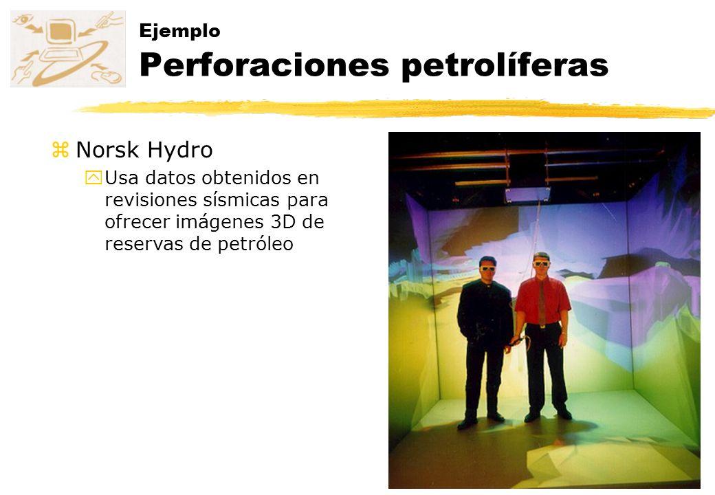 Ejemplo Perforaciones petrolíferas