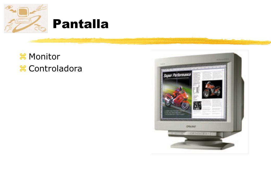 Pantalla Monitor Controladora