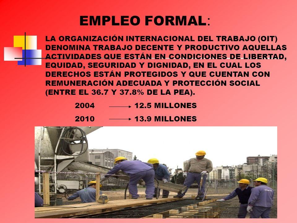 EMPLEO FORMAL: