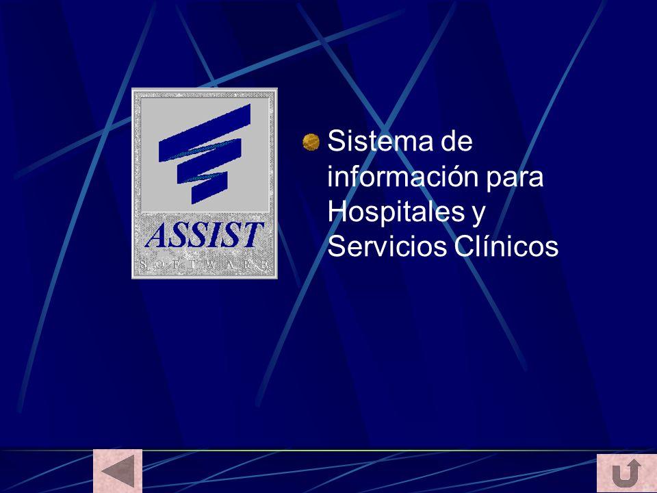 Sistema de información para Hospitales y Servicios Clínicos