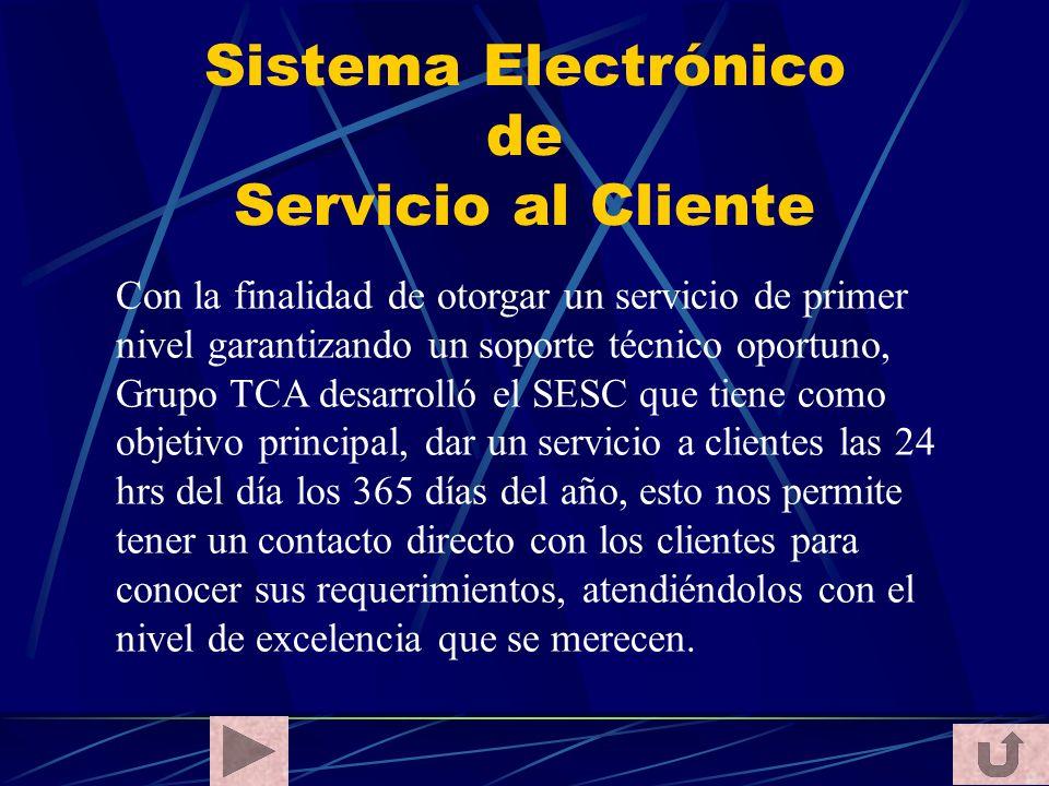 Sistema Electrónico de Servicio al Cliente