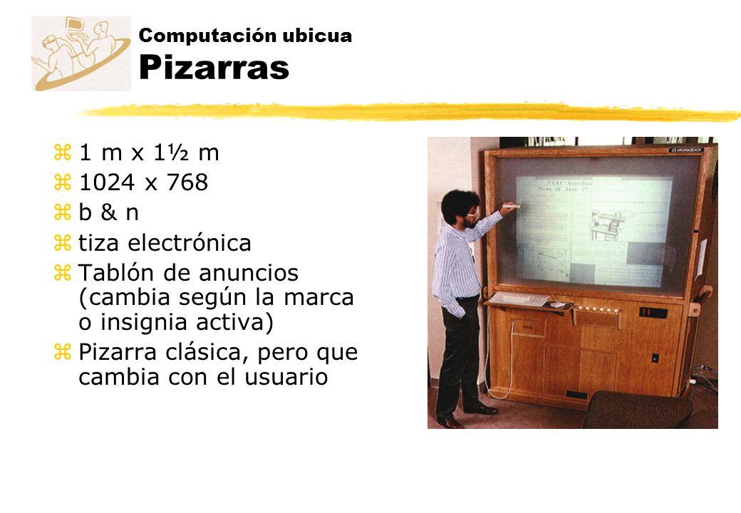 Computación ubicua Pizarras