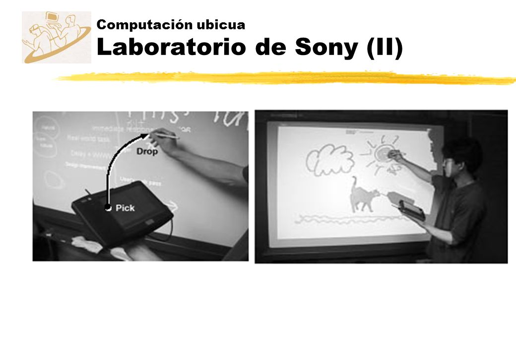 Computación ubicua Laboratorio de Sony (II)