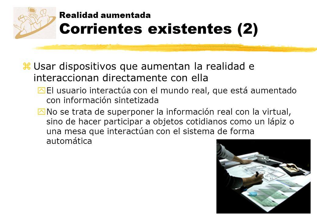 Realidad aumentada Corrientes existentes (2)