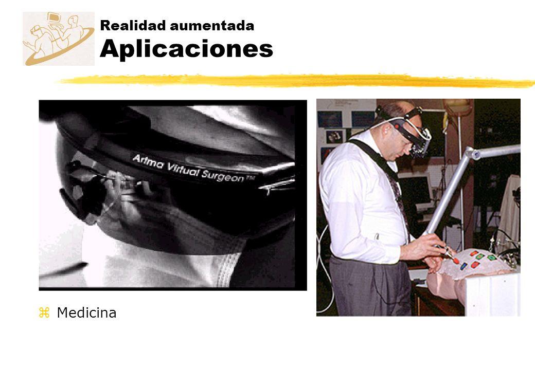 Realidad aumentada Aplicaciones