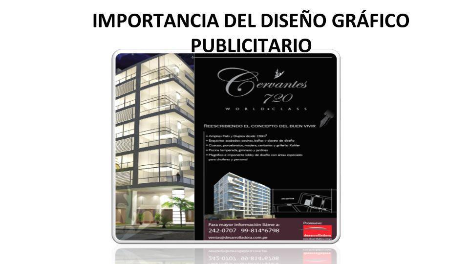 IMPORTANCIA DEL DISEÑO GRÁFICO PUBLICITARIO