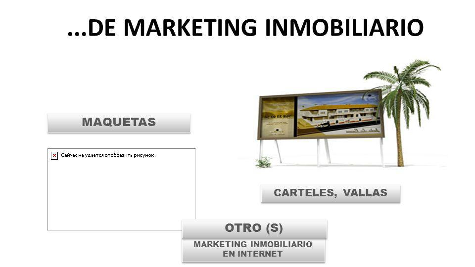 ...DE MARKETING INMOBILIARIO