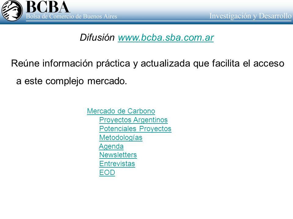 Difusión www.bcba.sba.com.ar