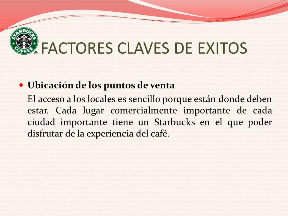 FACTORES CLAVES DE EXITOS