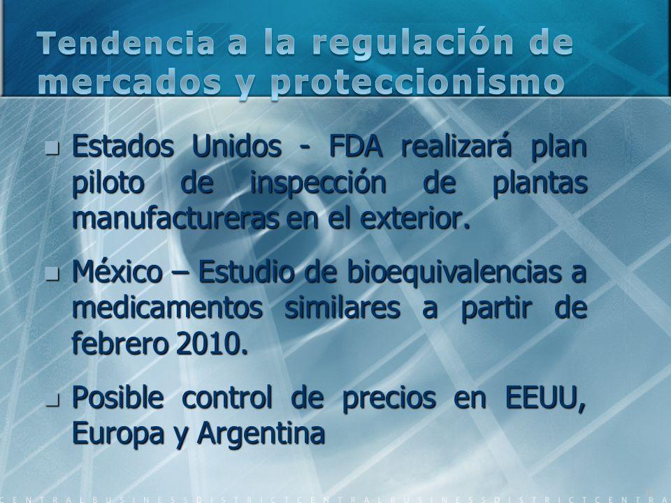 Tendencia a la regulación de mercados y proteccionismo