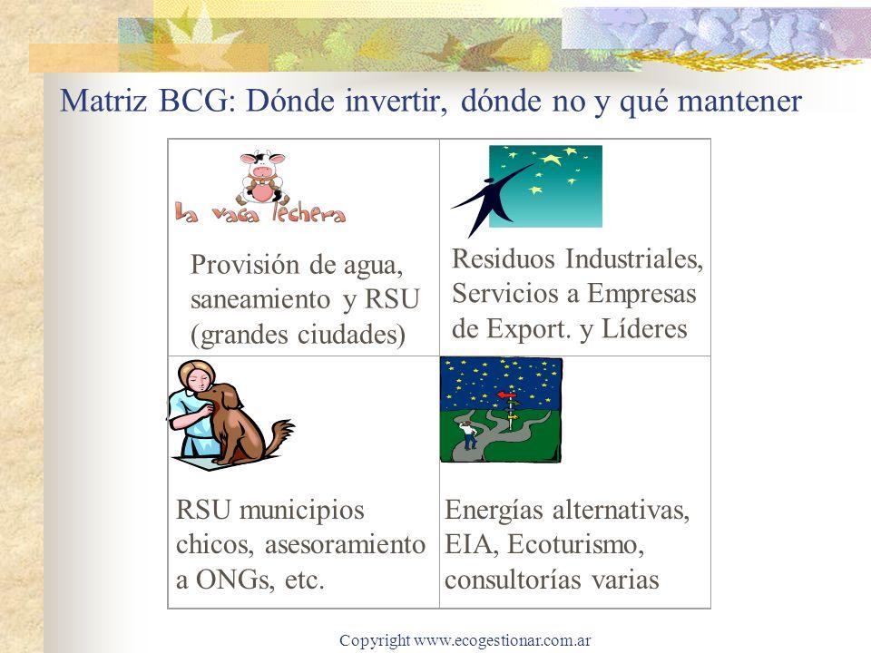 Matriz BCG: Dónde invertir, dónde no y qué mantener