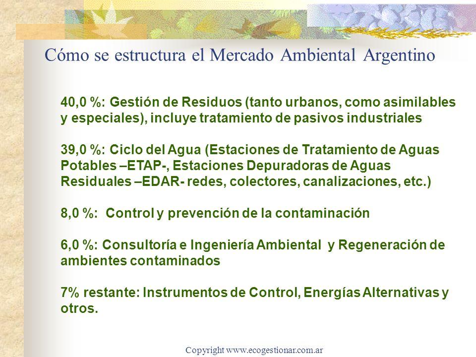 Cómo se estructura el Mercado Ambiental Argentino