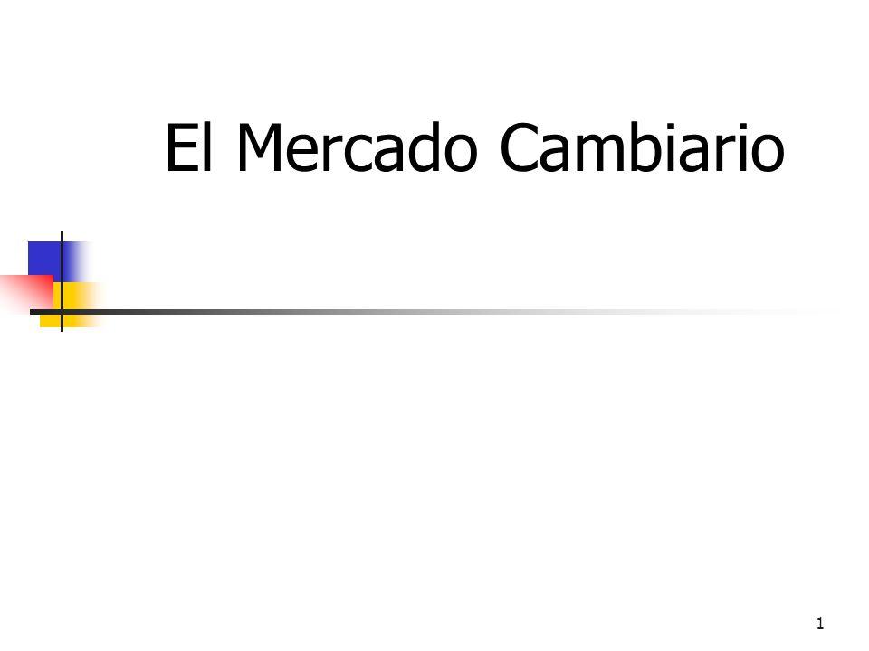 El Mercado Cambiario