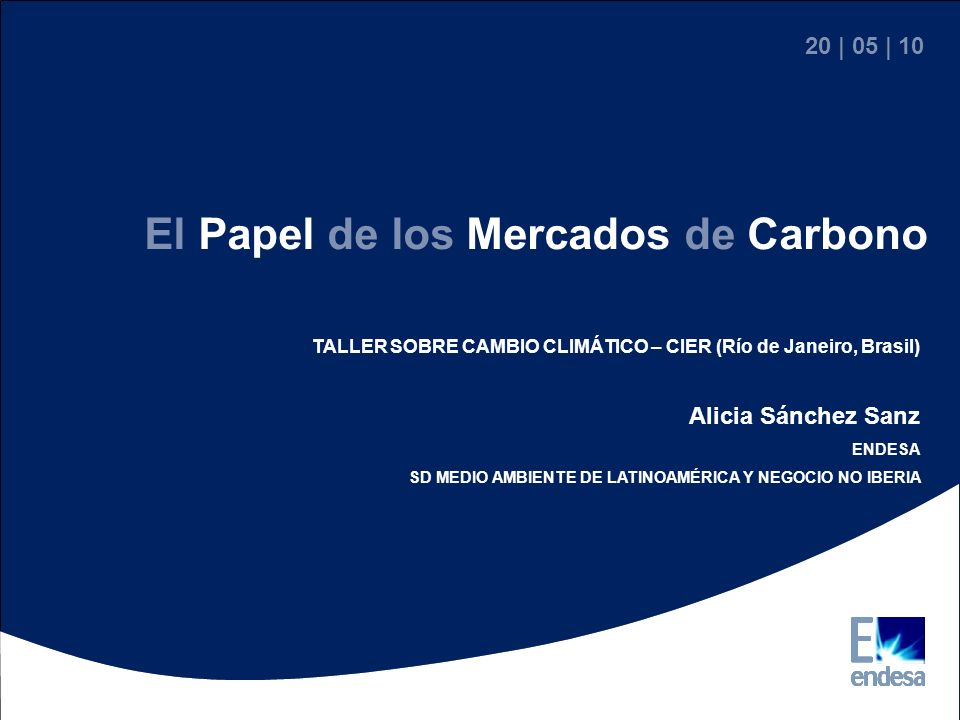 El Papel de los Mercados de Carbono