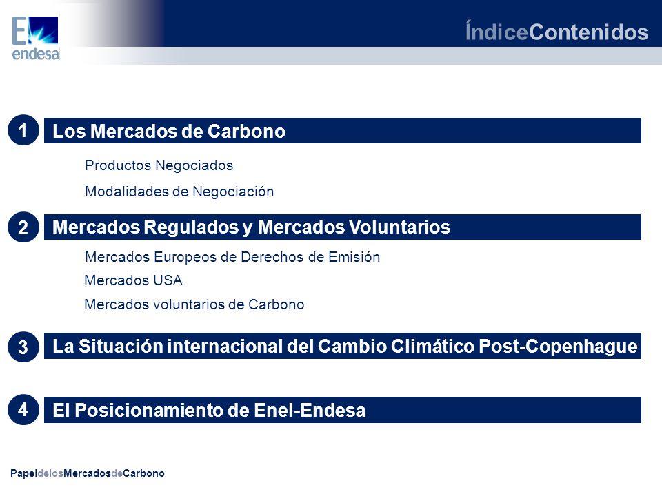 ÍndiceContenidos 1 Los Mercados de Carbono 2