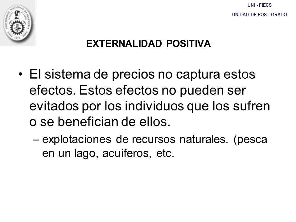 EXTERNALIDAD POSITIVA