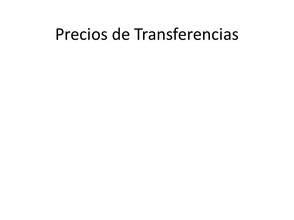 Precios de Transferencias