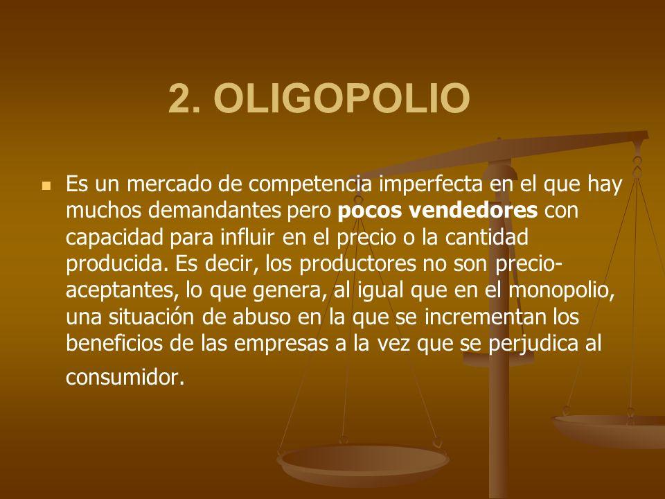2. OLIGOPOLIO