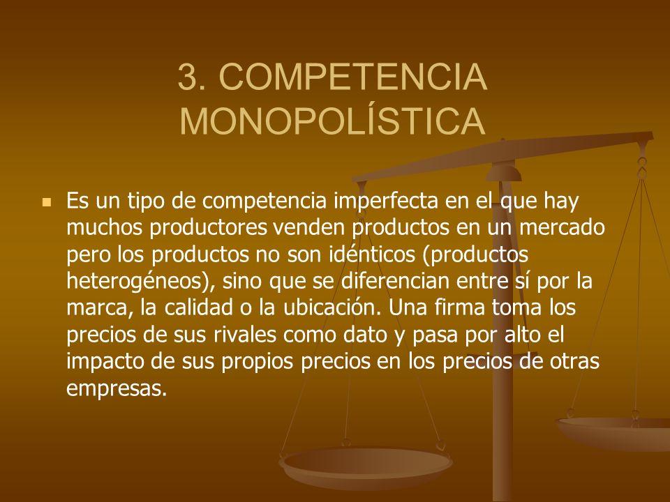 3. COMPETENCIA MONOPOLÍSTICA