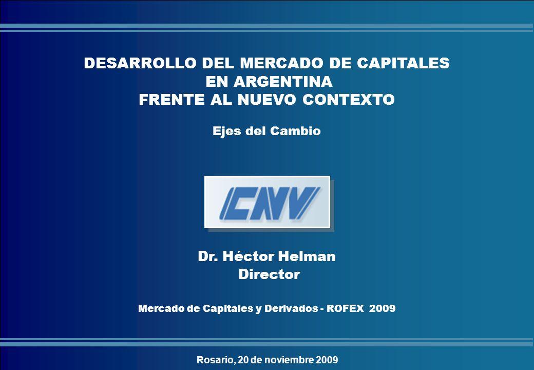 Mercado de Capitales y Derivados - ROFEX 2009