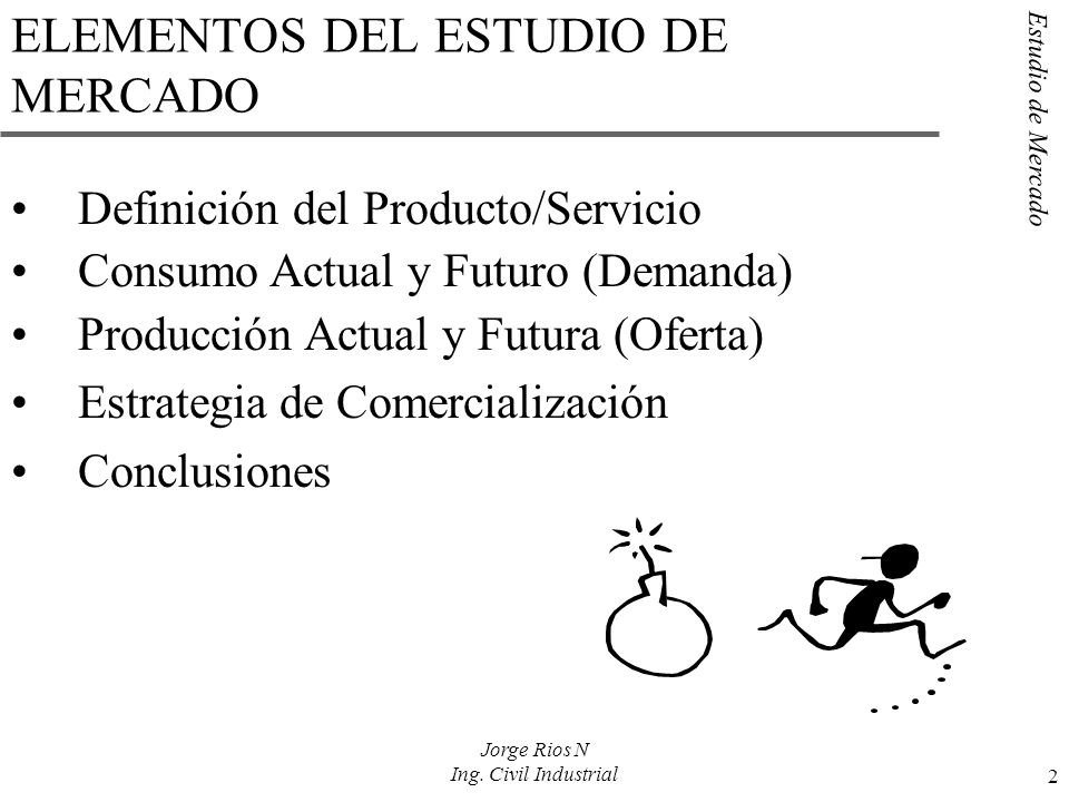 ELEMENTOS DEL ESTUDIO DE MERCADO