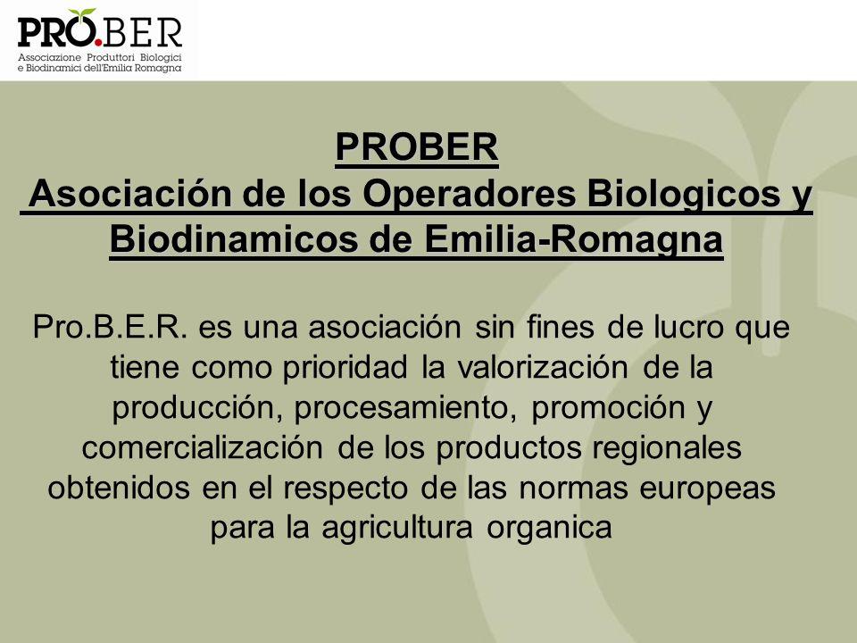 PROBER Asociación de los Operadores Biologicos y Biodinamicos de Emilia-Romagna